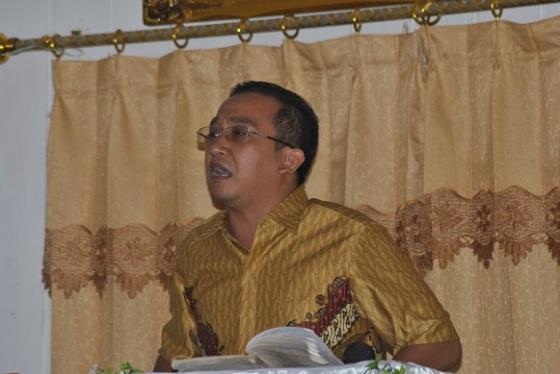 Pst. Heru Johananta - Pembicara yang kita undang untuk mission trip di Tumbang Habaun
